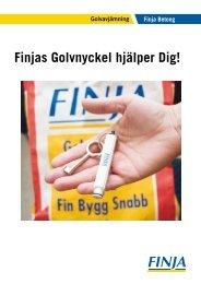 Finjas Golvnyckel hjälper Dig!