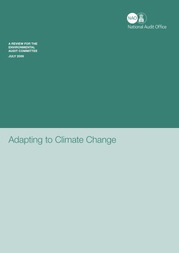 Adapting to Climate Change - National Audit Office