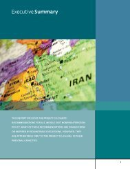 Executive Summary - Institute for Science and International Security