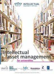 Intellectual Asset Management for Universities (1.04Mb)