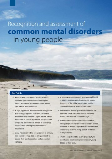 common mental disorders - Bpac.org.nz