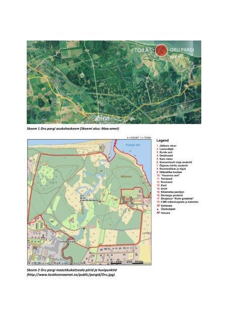 Oru pargi maastikukaitseala kaitsekorralduskava - Keskkonnaamet