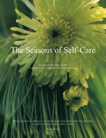 The Seasons of Self-Care - Care Providers of Minnesota