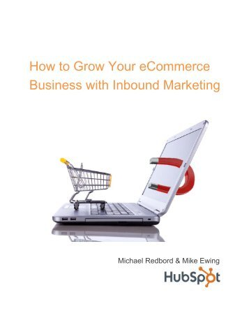 How to Grow your eCommerce Business with Inbound Marketing
