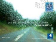 Varnost in vidljivost - Peugeot
