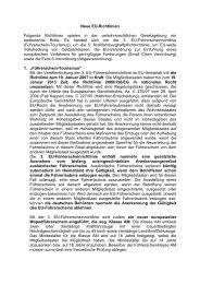 Neue EU-Richtlinien - Deubner Recht & Praxis