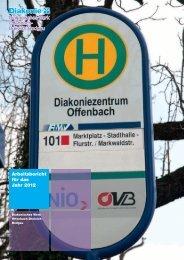 Arbeitsbericht für das Jahr 2012 - Diakonisches Werk Offenbach ...