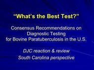 """""""What's the Best Test?"""" Consensus Recommendations on ..."""