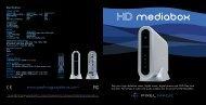 Download PDF HD MediaBox Brochure - Pixel Magic Systems Ltd