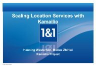 Scaling Location Services with Kamailio
