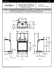Direct Vent Gas Fireplace - Hearth & Home Technologies