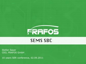 SEMS SBC - Kamailio
