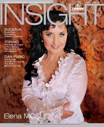 Elena MO{UC - Welcome to the official website of Elena Mosuc