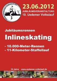 Inlineskating - Uedemer Volkslauf