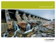 Sustainability Report 2009 - SaskPower