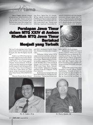 Persiapan Jawa Timur dalam MTQ XXIV di Ambon ... - Kemenag Jatim