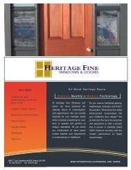 Doors Brochure PDF - NPC Services