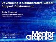 Mentor Graphics Corporation - Service Strategies