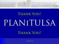 Thank You! Thank You! - PLANiTULSA