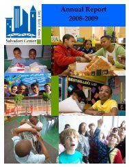Annual Report 2008-2009 - Salvadori Center