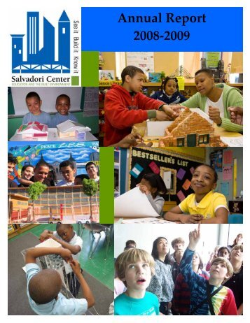 Annual Report 2008-2009 - Salvadori Center