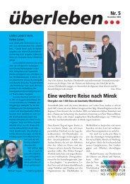 Überleben 5/2003 - Bundesverband Information und Beratung für ...