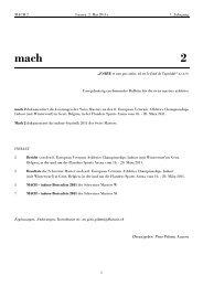 mach 2 - Swiss Masters Athletics