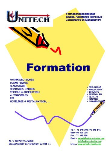 Catalogue de Formation 2013