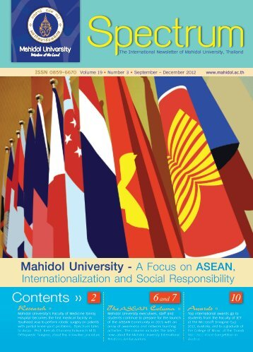 Volume 19 Number 3 (September - December 2012) - Mahidol ...