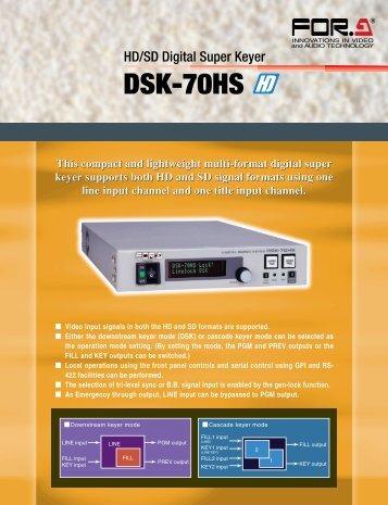 HD/SD Digital Super Keyer - America