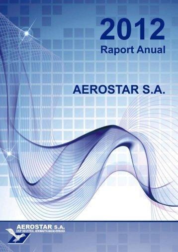 Raport Anual 2012 - Aerostar S.A.