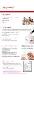 Muster der amtlichen Wahlinformation über die ... - WordPress.com - Seite 2