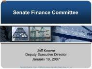 Click to add title - Virginia Senate Finance Committee