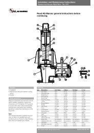 Fig. 121S PV Valve - Safety Systems UK Ltd