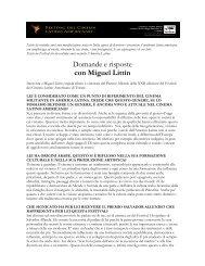 con Miguel Littín - Festival del Cinema Latino Americano a Trieste