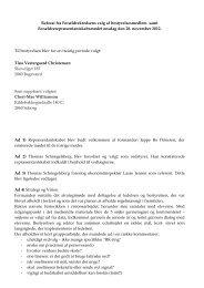 Referat fra forældrerepræsentskabsmøde 28. november 2012