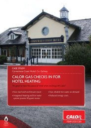 Case Study - Calor Gas
