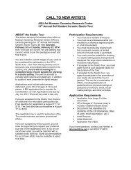 Application [PDF] - ASU Art Museum