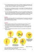 Bewegungsspiel mit Würfeln - Uhu - Seite 3