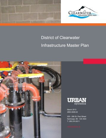 District of Clearwater Infrastructure Master Plan