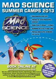Mad Science North West