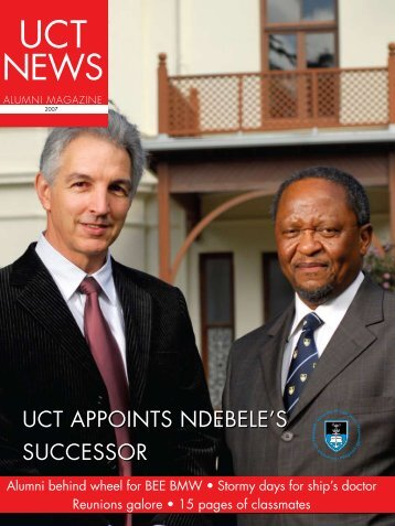 UCT AppoinTS ndEBElE'S SUCCESSoR