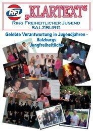 Klartext 3 - Ring Freiheitlicher Jugend Salzburg