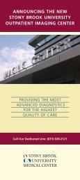 Imaging Center Brochure - University Physicians