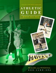 Winter 2011-12 Athletic Media Guide - College of Southern Maryland
