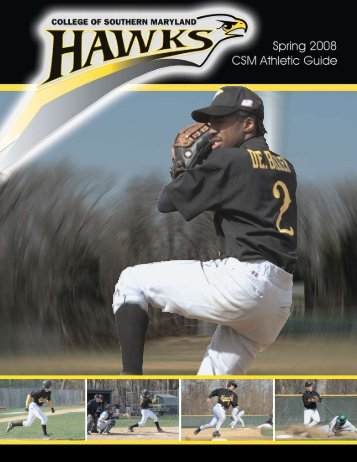 Spring 2008 Athletic Media Guide - College of Southern Maryland