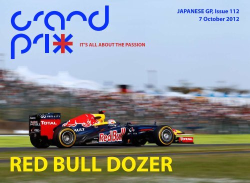 JAPANESE GP, Issue 112 7 October 2012 - Grandprixplus