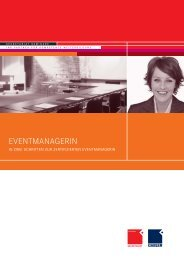 Eventmanagerin Flyer_9.indd - OFFICE SEMINARE