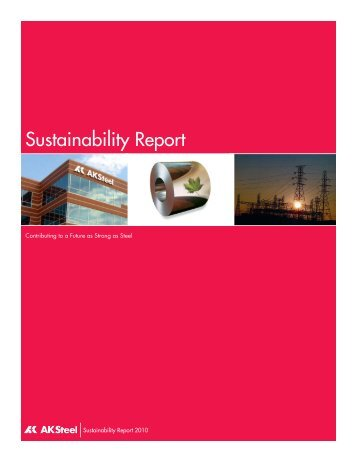 Sustainability Report - AK Steel
