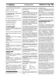 medphano Vitamin C-mp 100 - medphano Arzneimittel GmbH